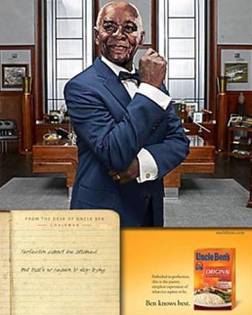 Uncle Ben is now a CEO
