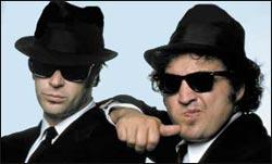 Dan Akroyd and John Belushi