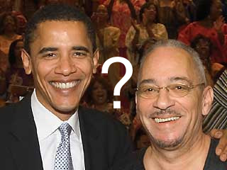 Barack Obama and Jeremiah Wright